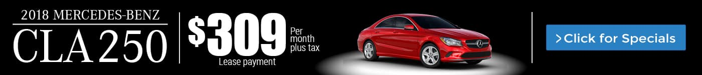 2018 Mercedes-Benz CLA 250 for Lease in Riverside, CA