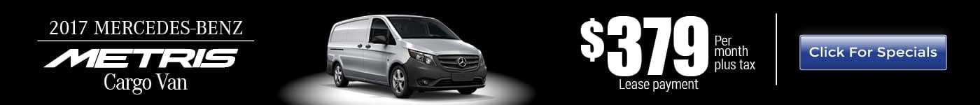 2017 Mercedes-Benz Metris Van for Lease near Corona, CA