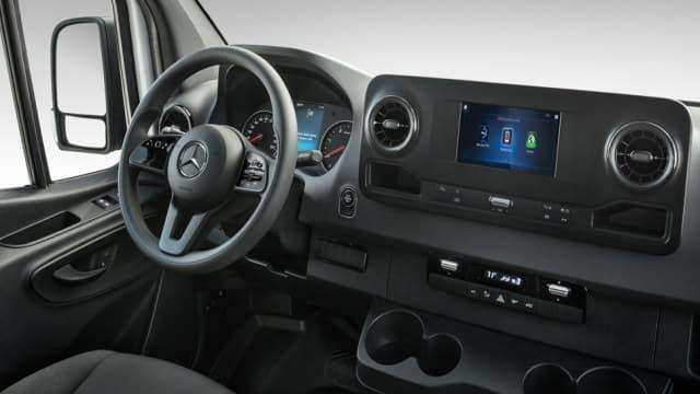 2019 Mercedes-Benz Sprinter Van Interior Console