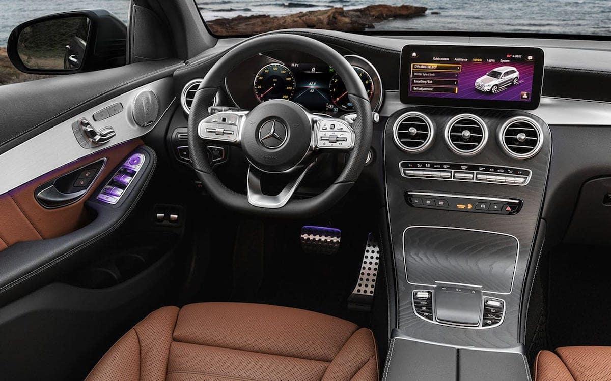 2020 GLC interior dashboard