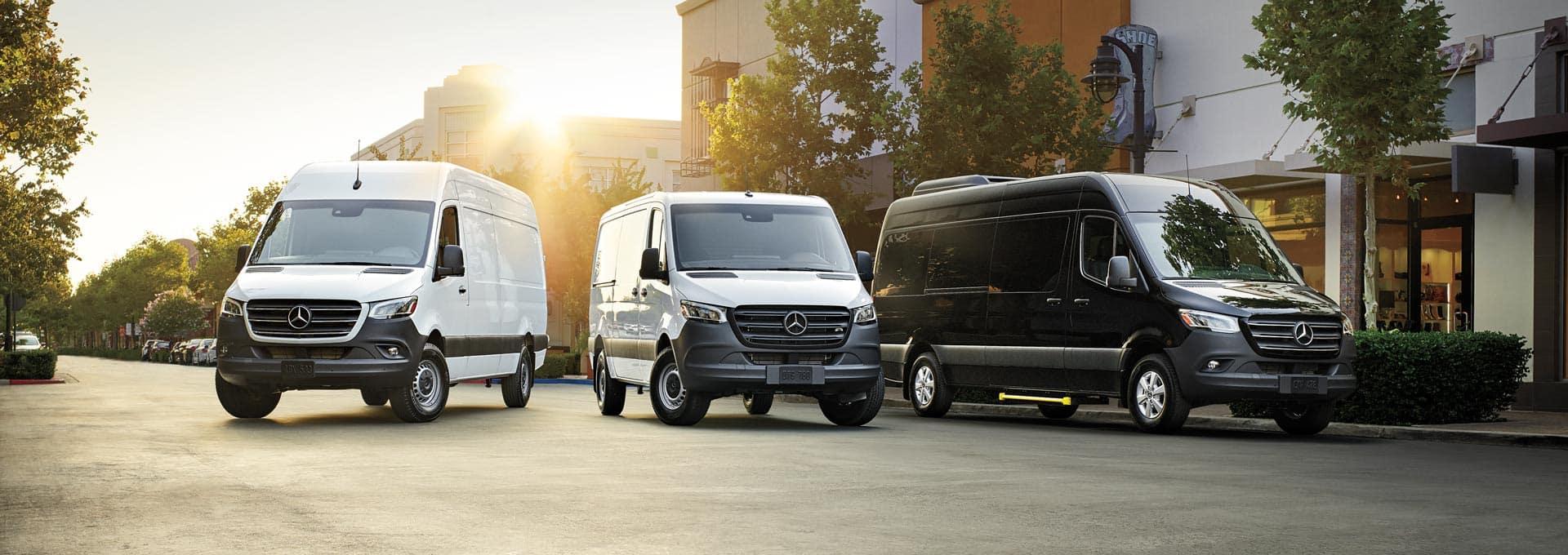 Mercedes-Benz Sprinter Vans Lease Specials