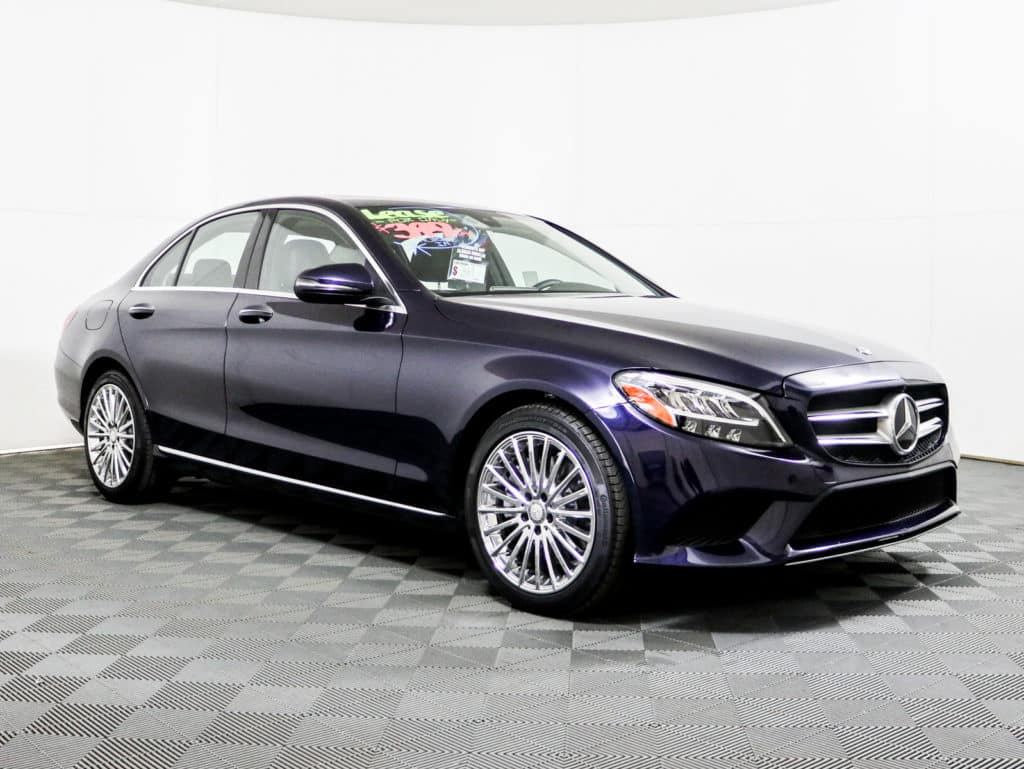 Pre-Owned 2019 Mercedes-Benz C 300 Sedan Lease Special