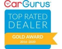 Top Rated 2016-2019 Gold Award Car Gurus