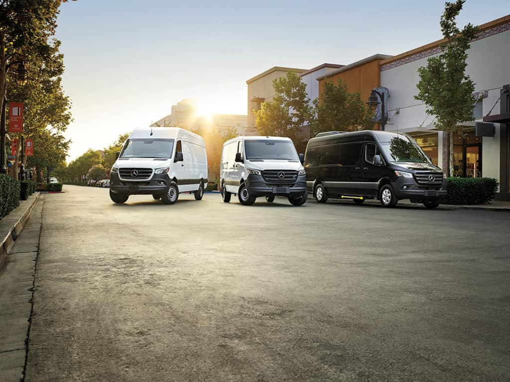 Deferred Payments for up to 120 Days on Sprinter & Metris Vans