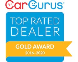 2016-2020 Gold Award Car Gurus