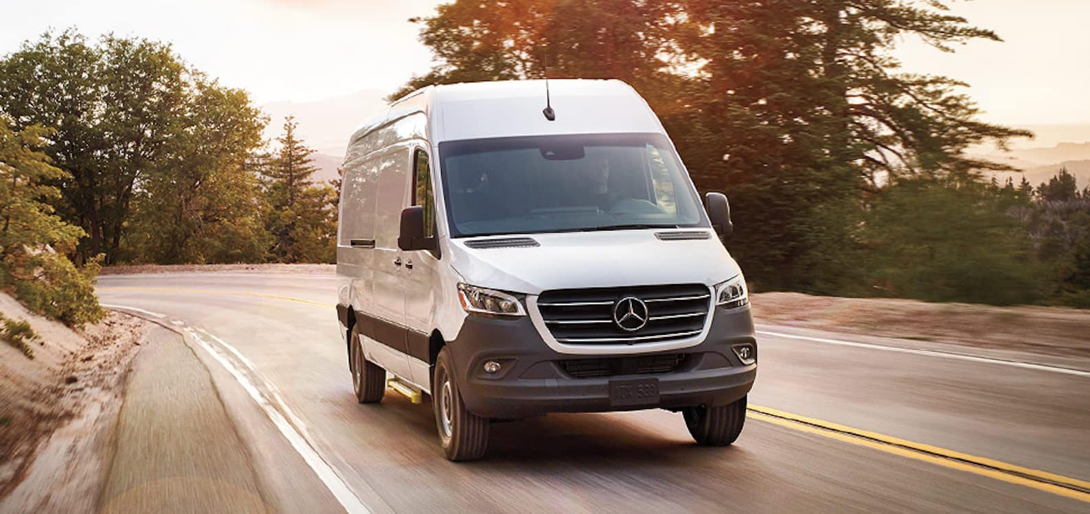 2020-Mercedes-Benz Sprinter Van