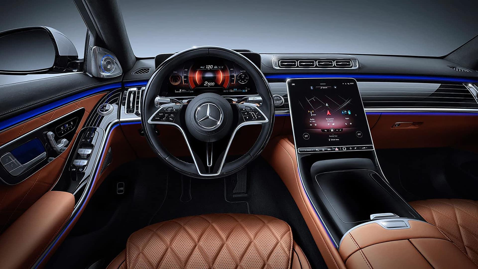 2021 Mercedes-Benz S-Class Technology