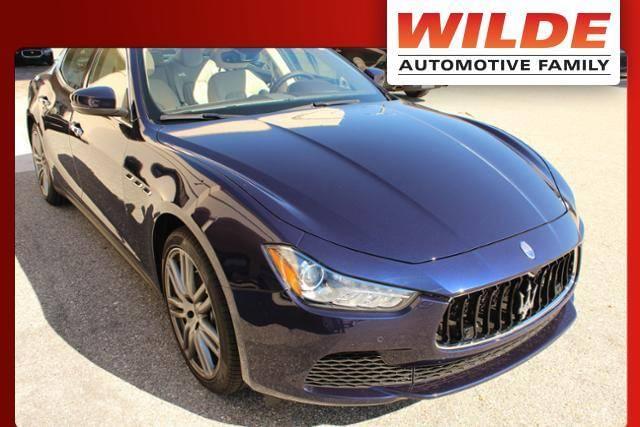 Used 2017 Maserati Ghibli 3.0L RWD 4dr Car