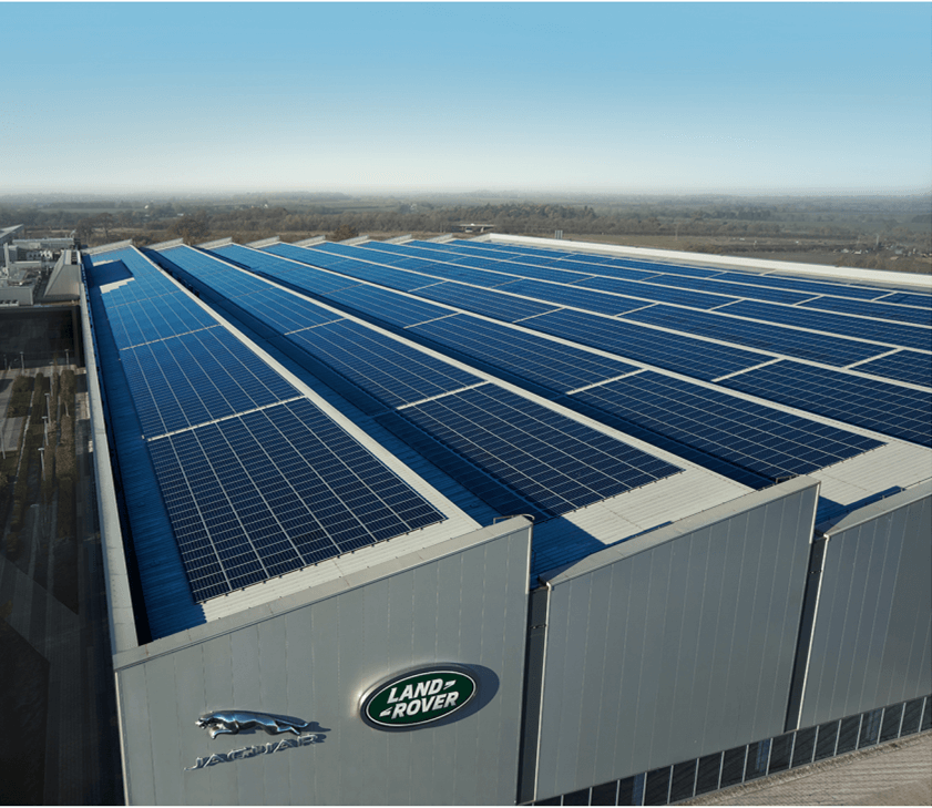 JLR and EDF Energy Team Up on Renewable Electricity