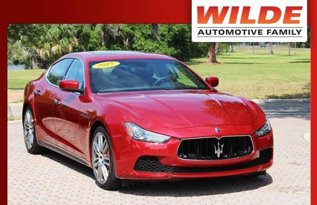 Used 2015 Maserati Ghibli S Q4 AWD