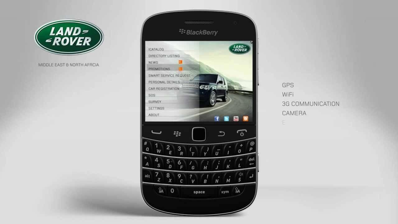 JLR Teams Up With BlackBerry for Added Security