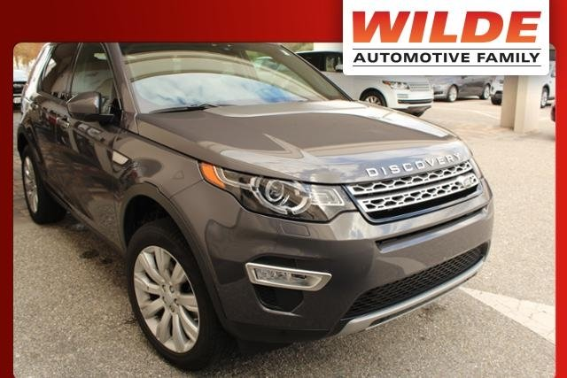 Certified 2016 Land Rover Discovery Sport HSE LUX