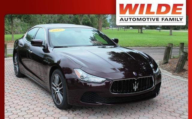 Used 2015 Maserati Ghibli RWD