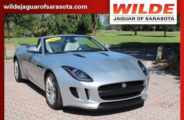 Certified 2014 Jaguar F TYPE V6 Convertible