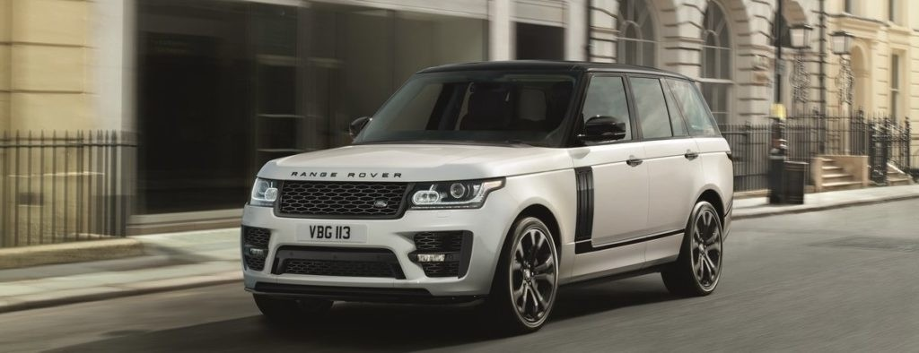 Personalize Your Range Rover with New SVO Options