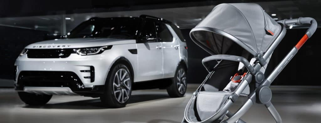 Land Rover and iCandy Launch Special Edition Stroller