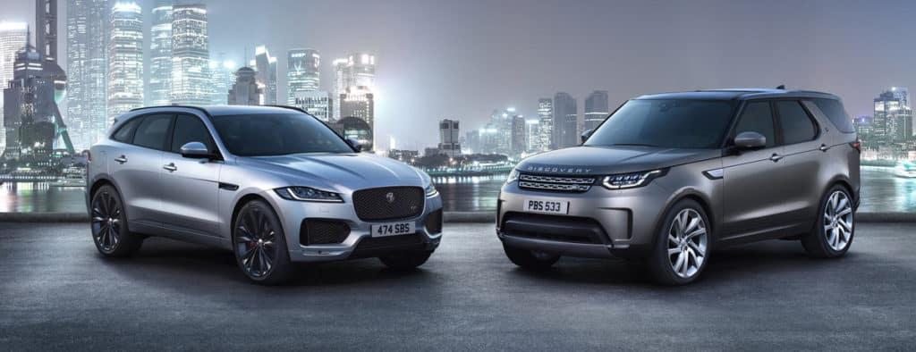 Impressive October Sales for Jaguar Land Rover