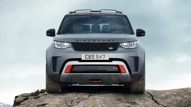 Walk Through the New Land Rover Discovery SVX