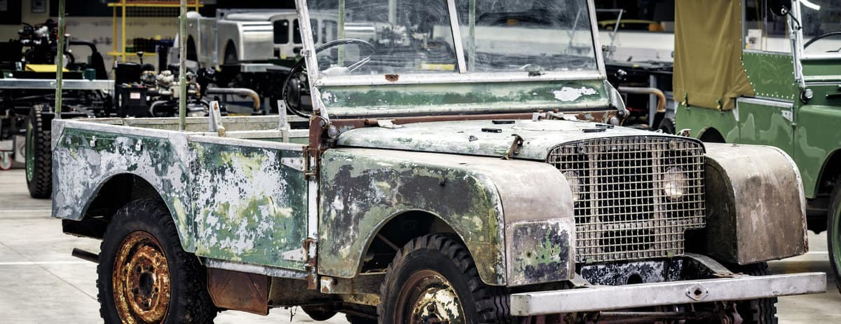 Land Rover Kicks off 70th Anniversary Begins with Restoration of Original 4x4