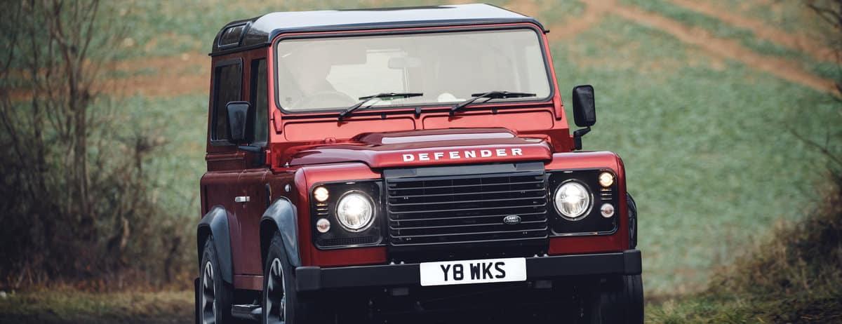 Defender Gets V8 for 70th Anniversary