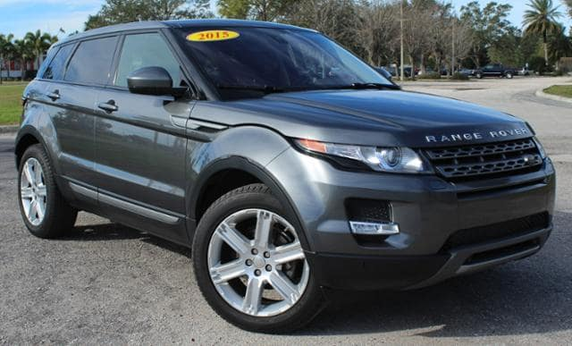 Certified Pre-Owned 2015 Land Rover Range Rover Evoque