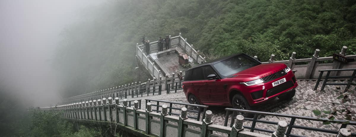 Range Rover Sport PHEV Climbs to Heaven's Gate