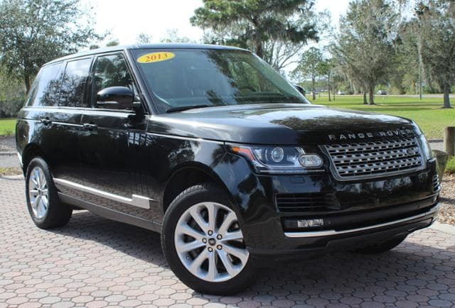 Certified Pre-Owned 2013 Land Rover Range Rover