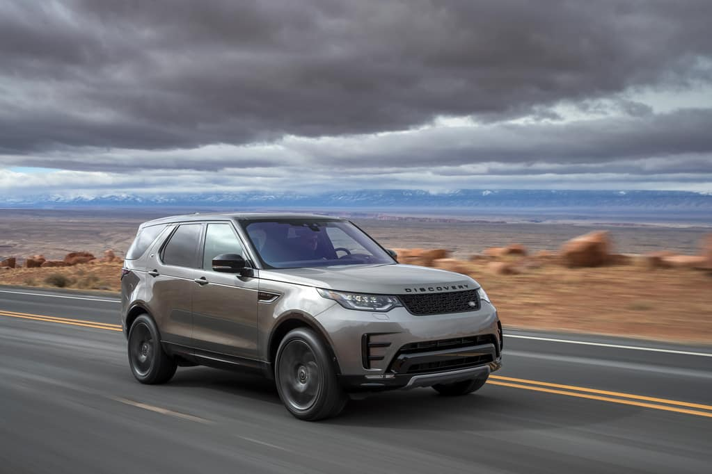 Land Rover Discovery Gets Updated Safety Features